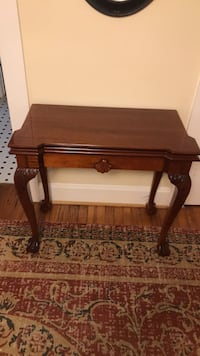 brown wooden side table with drawer Portsmouth, 23707