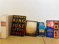 5 favorite books:) Las Vegas, 89115