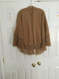 Women's alpaca brown poncho Ellicott City, 21043