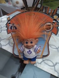 Official NHL 1993 Wow Wee Toronto Maple Leafs Forest Trolls Doll Very Rare  Very collectible doll and very hard to find. Comes with original paper backing. Minor bend on carboard on top left side as in the picture. Well taken care of over the years. Get a Toronto
