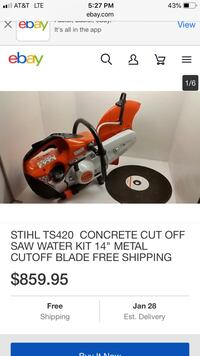 Gently used Quickie Saw  Canyon, 79015