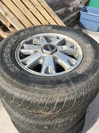 GMC Sonoma or Jimmy / Chevy Blazer or S-10 Stock rims and tires Edmonton, T6B 1C4