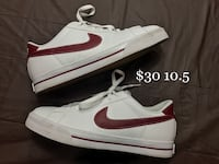 pair of white Nike low-top sneakers Urbandale, 50322