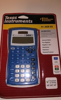 Texas Instruments TI-30XIIS Scientific Calculator, Blue | Brand New Still in Packaging