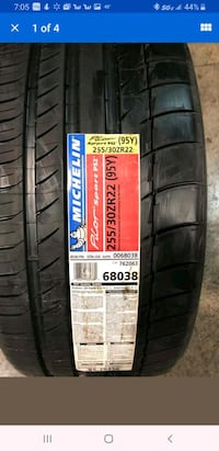 2 Michelin 255/30R2  Chesapeake, 23325
