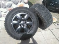 Goodyear duratrac 265/65r18 on gmc wheels with tps New Tecumseth, L0G 1W0