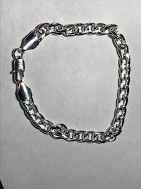 silver-colored chain bracelet Longwood, 32750
