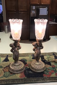Table lamp pair