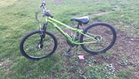 Green and black hardtail mountain bike Summerland, V0H 1Z8