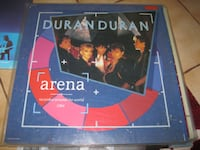Records vinyl LP's 5 make an offer  - duran duran arena - duran duran rio - Electric Light Orchestra – ELO's Greatest Hits - Carpenters – A Song For You - Simon And Garfunkel – Bridge Over Troubled Water - canadian headliners - earl grant ebb tide - Em Hamilton