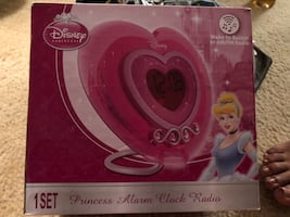Princess alarm clock and radio
