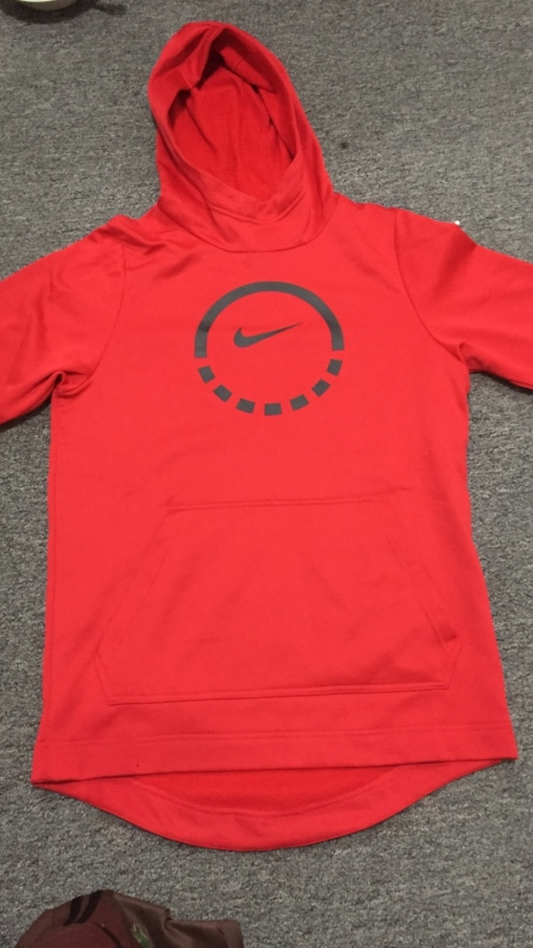 Red Nike sweater brand new