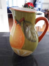 Tuscan style pitcher