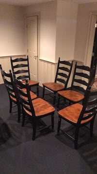brown wooden dining table set Centreville, 20120