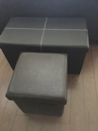 1 small leather bench for sale $20 1 medium leather bench for sale $25 pick up only! , L2G 7K6