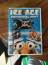 Ice Age Continental drift DVD with Case Cedar Falls, 50613