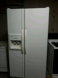 white side-by-side refrigerator with dispenser Las Vegas, 89129