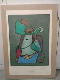 Print signed by the artist Mihail Chemiakin New York, 10065