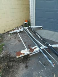 Roof Rack with everything ladders come down side i