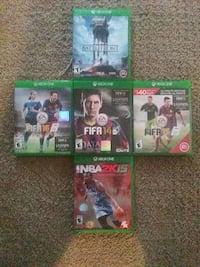 XBOX console gameS Cleveland, 44109