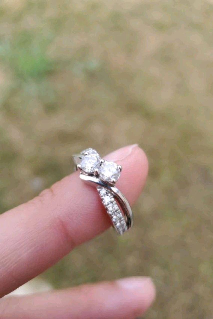 Photo Engagement ring