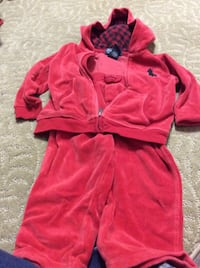 red polo sweat suit 18 m Rockville