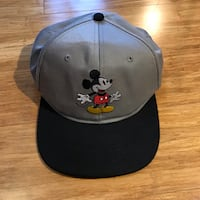 Black and gray mickey mouse cap Windham, 03087