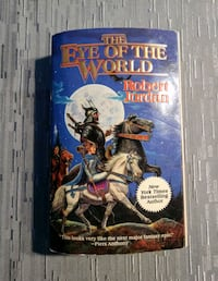 Robert Jordan- Eye of the World Book Bristol, 06010