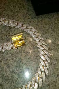 Iced out Cuban link chain  Bellflower, 90706