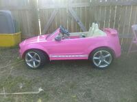 pink Ford Mustang ride on toy
