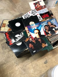 4 crates old school 12in records over 400 albums  New York, 11412