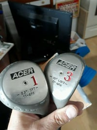 Acer 1 Driver and 3 Fairway Wood