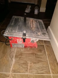 7inch wet tile cutting saw
