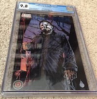 Super Rare CGC 9.8 Halloween II Blue Foil Variant Only 2 Exist In Grade Stockton, 95215
