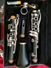 stainless steel clarinet in case Cypress, 77433