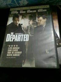 The Departed DVD case