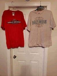 Mens Harley davidson shirts see description