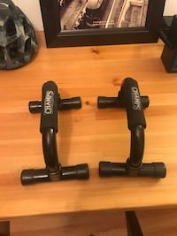 black and gray exercise equipment Calgary, T2R 0Y6