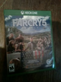 Xbox One Farcry 4 game case Six Mile, 29682