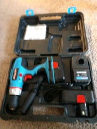 blue and black cordless power drill Woodlawn, 21207