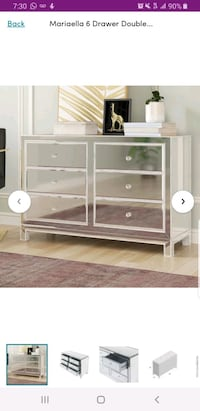 6 Drawer Double Dresser by Rosdorf Park The Bronx, 10463