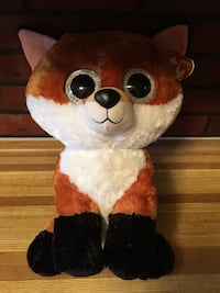 Toy Ty Beanie BOOS Slick Fox Large