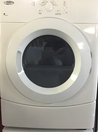 """27"""" WHIRLPOOL ACCUDRY FRONT LOAD WHITE DRYER  تورونتو"""