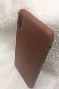 iPhone XS case leather NWOT El Paso, 78832