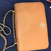 Brown Tory Burch  leather crossbody bag Hong Kong