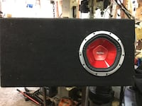 """Sony 10"""" sub in a nice ported box Delta, V4C 2M3"""