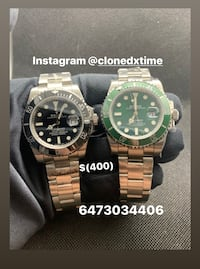 Rolex submariner Rolex Watch analog Watch Automatic Watch omega Hublot gold  silver Toronto, M9C 1A5
