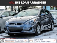 2017 Hyundai Accent with 56,305km and 100% approved financing Barrie