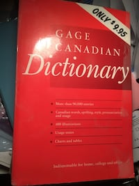 Gage Canadian dictionary Surrey, V3T 5L7