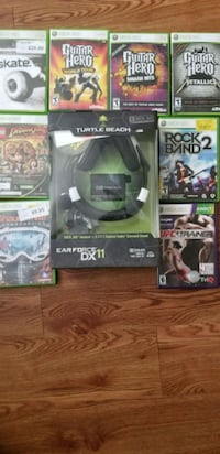 Xbox 360 games/ headset Fort Belvoir, 22060